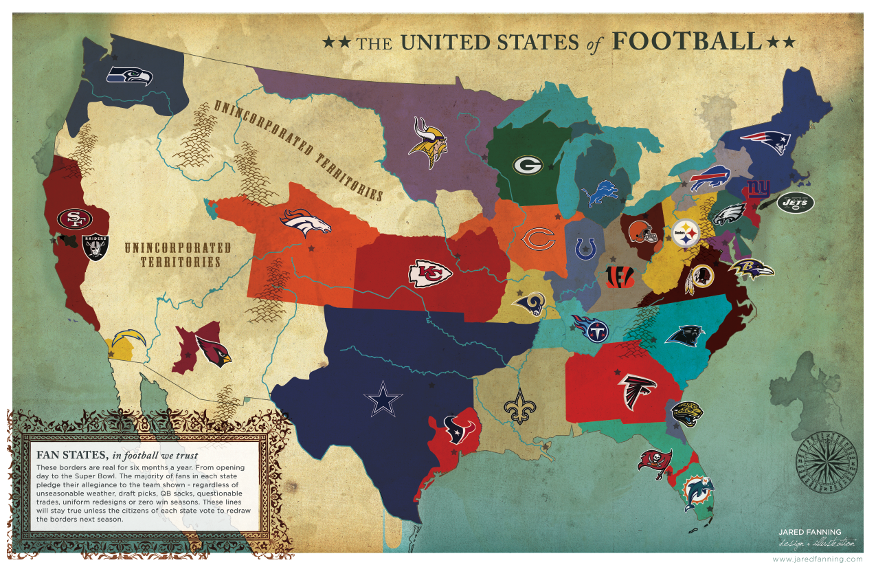 nfl fan map sports odds app