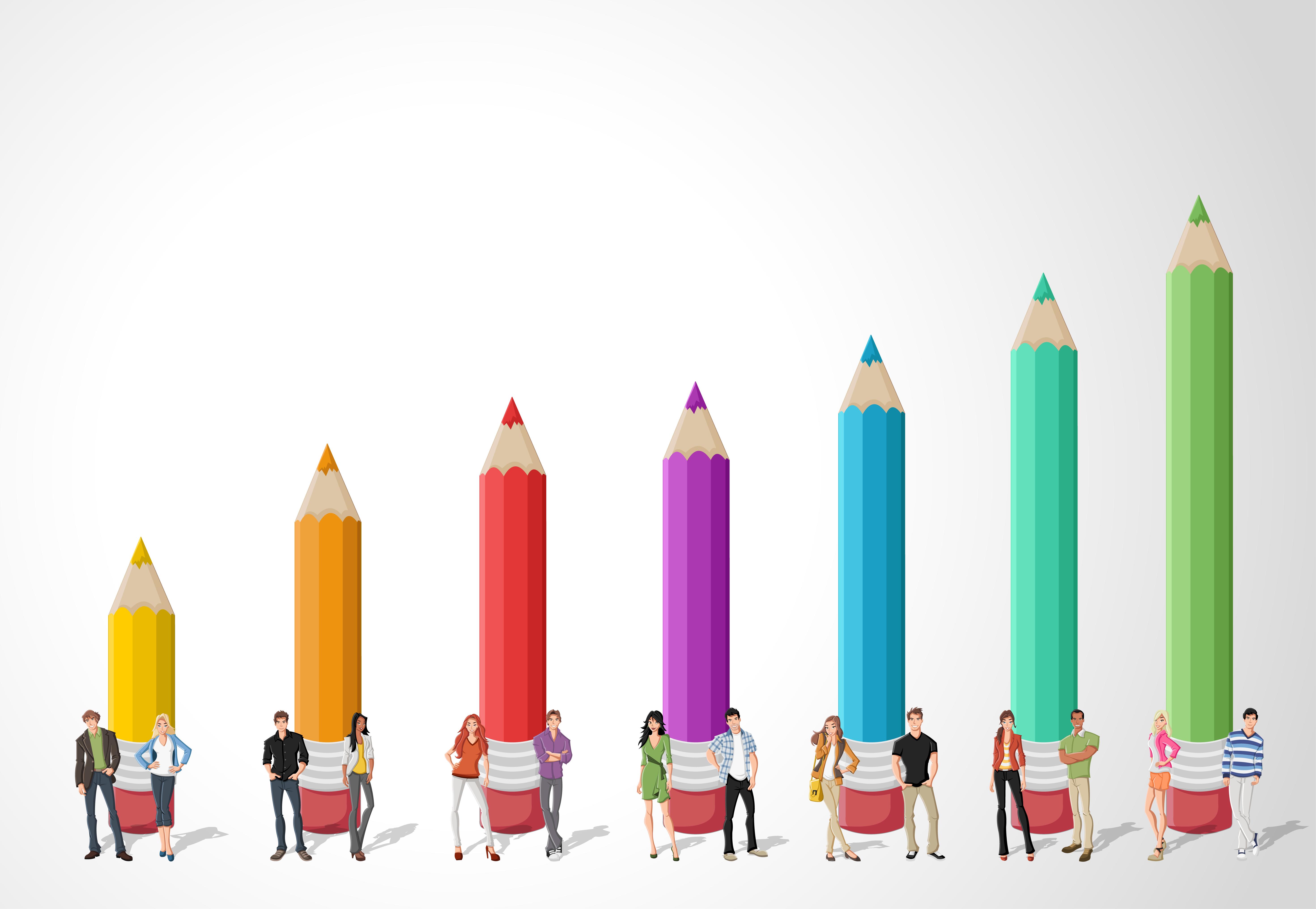 Pencils Graph